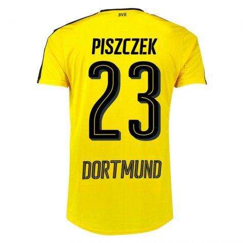 Dortmund Jersey 2016/17 Home Soccer Shirt #23 Piszczek