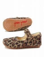 Pompom - leopard ballerina sutsko