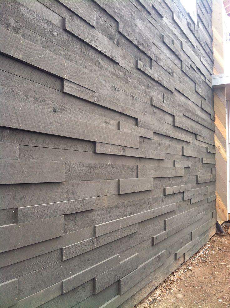 Varied Width Depth Quot Barn House Quot Rainscreen Siding