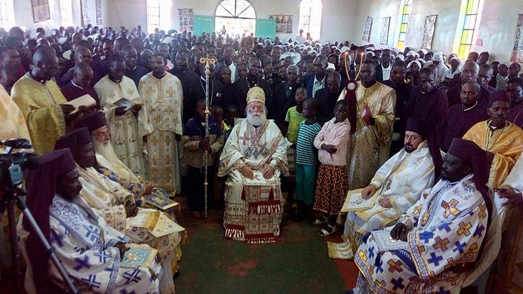 Enthronement of Bishops in Kenya- may 2016 - St Barnabas Orthodox Orphanage and School