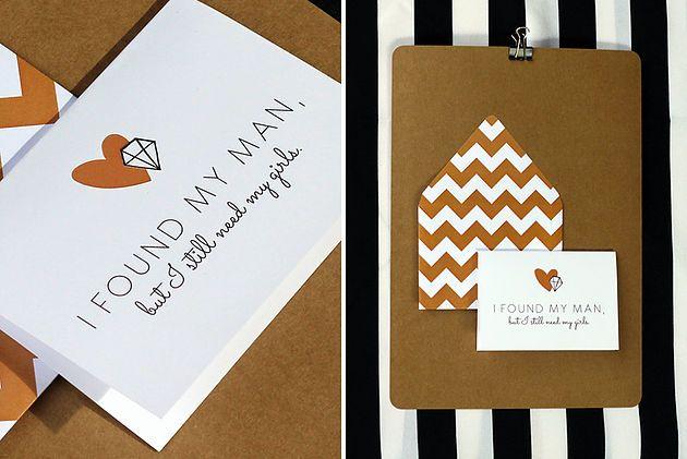 Leo & Ness | Wedding + Event Stationery | Bridesmaid Card Styled Stationery