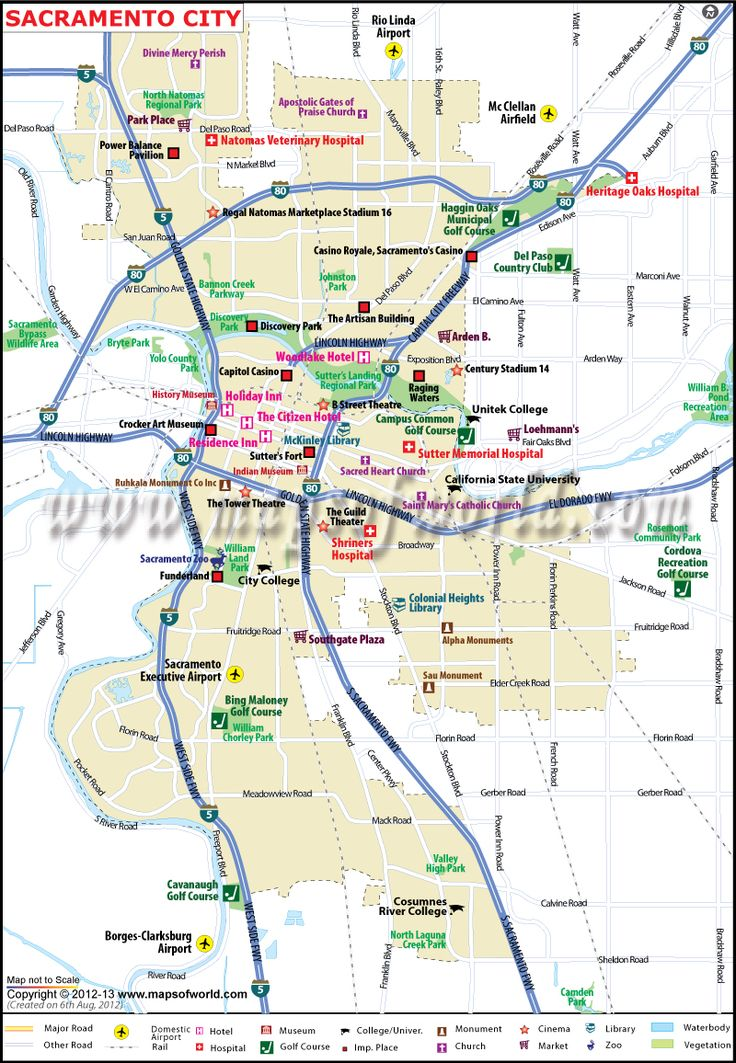 Sacramento City Map For Sale In Editable Vector Ai Eps Along With Non Editable Raster Jpg File Format Digital Map Sacramento City Can Be Customized