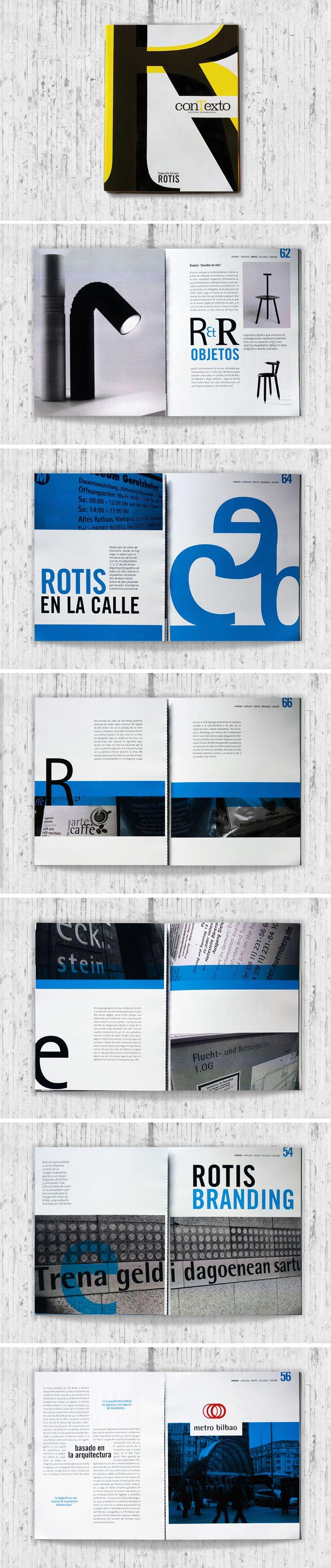 Maquetación de revista Tipográfica @cristinallopart