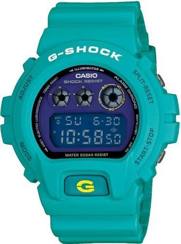 Dw6900sn-3 Casio G-shock Watch Dw 6900 Sn-3 New Turquoise Limited Edition Watch