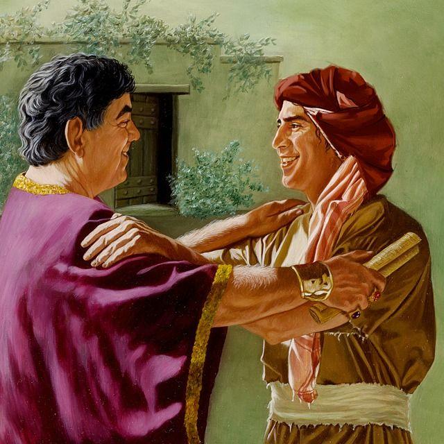 Cristãos do primeiro século demostrando um bom espírito
