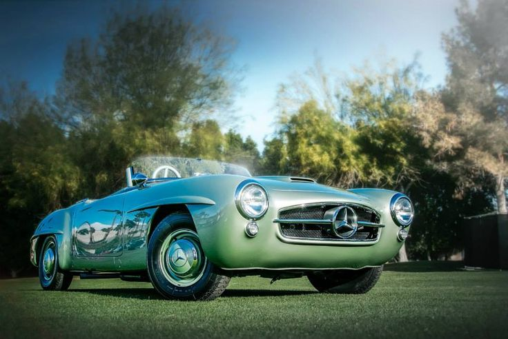 The 190 SLR Reimagined by the Mercedes-Benz Classic Center