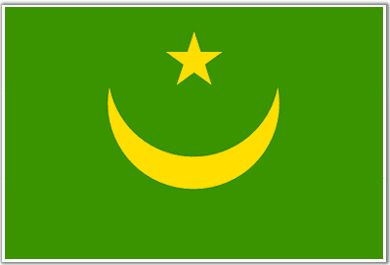 Mauritania Flag - Download Picture of Blank Mauritania Flag For Kids to Color