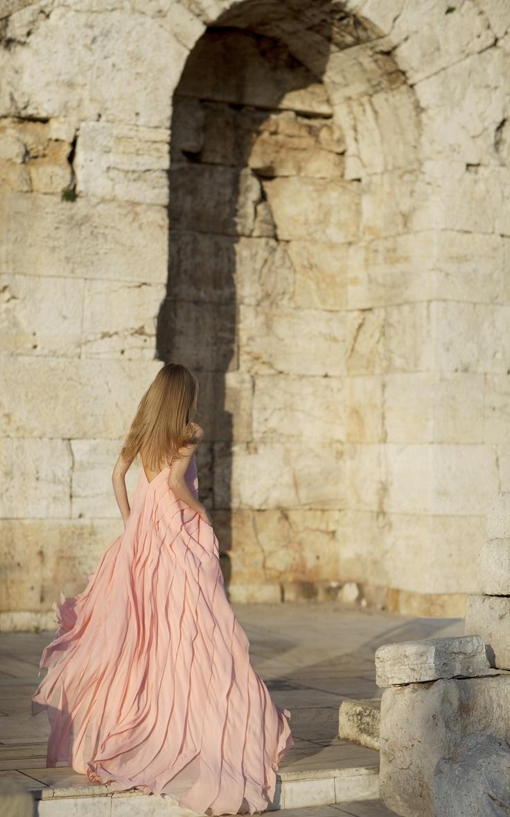 Christos Costarellos SS12 Silk Dress