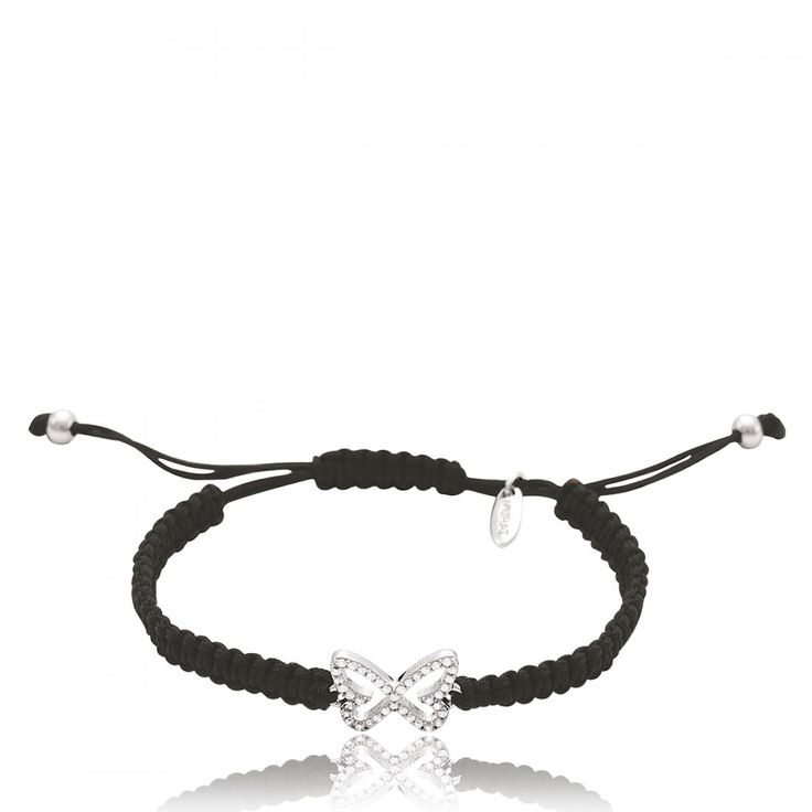 Ladies waxed cotton Plaza Butterfly black cord - Murat Paris