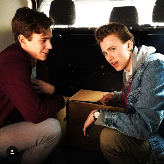 Our boys on Jonas' instagram #s4