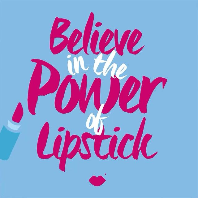 Believe in the Power of Lipstick and the strength in knowing that even without it your still powerful! @qtips #beautyqtips #sponsored