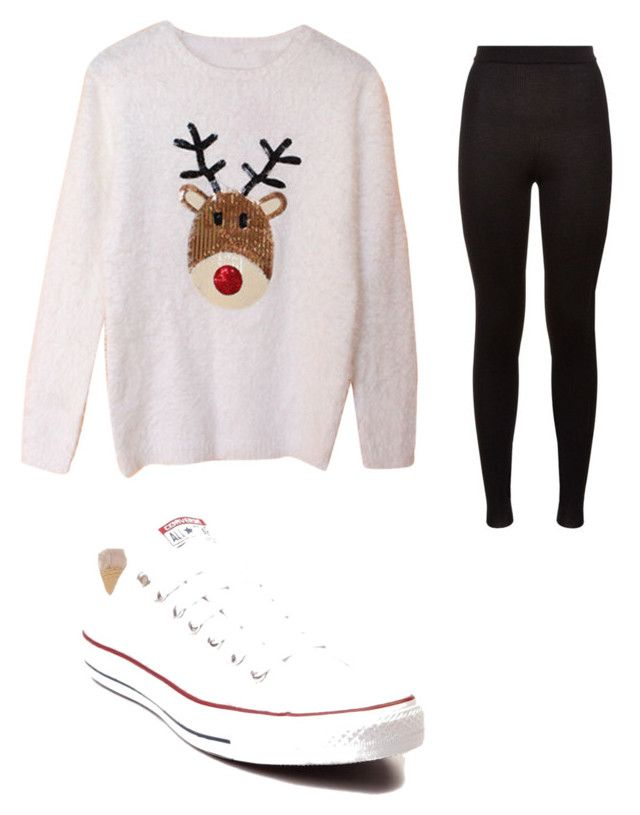 """""""Christmas"""" by josiasashlee on Polyvore featuring Dolce&Gabbana and Converse"""