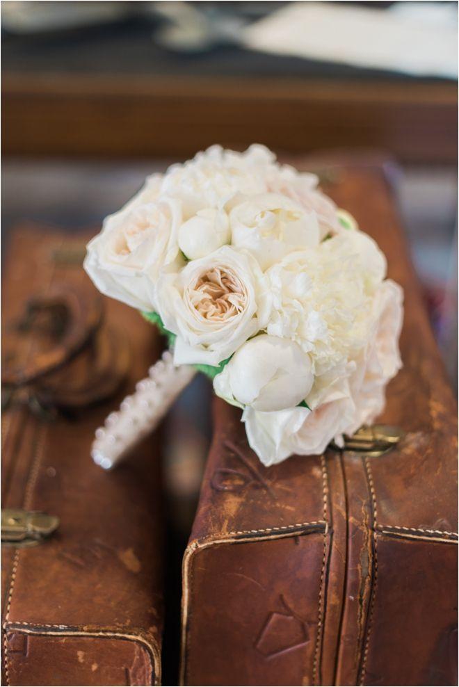 Classic Ivory Bridal Bouquet   Classic Bridal Bouquet   Photo: Elisheva Golani Photography   Bouquet: AJ's Urban Petals