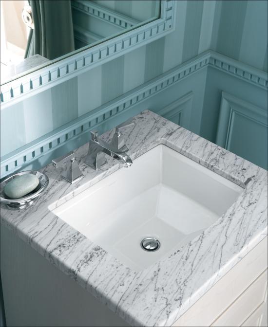 """Kohler K-2355-0 White Archer 17-5/8"""" Undermount Bathroom Sink with Overflow --111"""