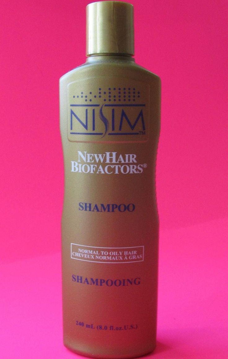 240Ml / 8Oz Nisim Biofactors Anti Hair Loss Shampoo (Oily Hair Type) ~ Free Ship