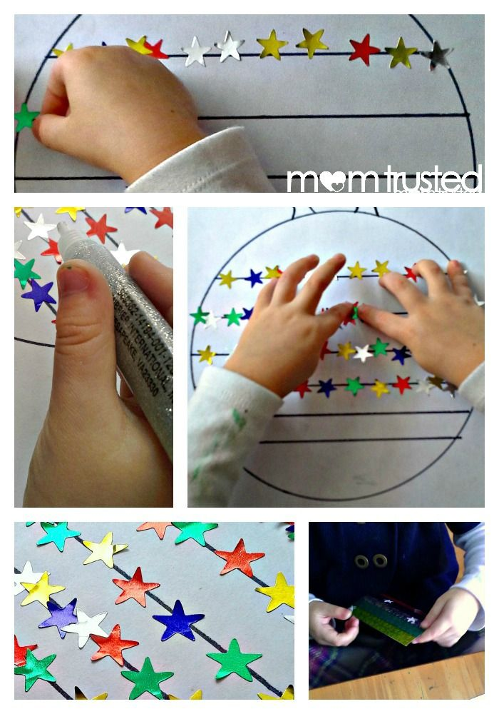 Fine motor skills sticker activity that kids love and can be modified for any theme you can think of!  #christmas #holiday