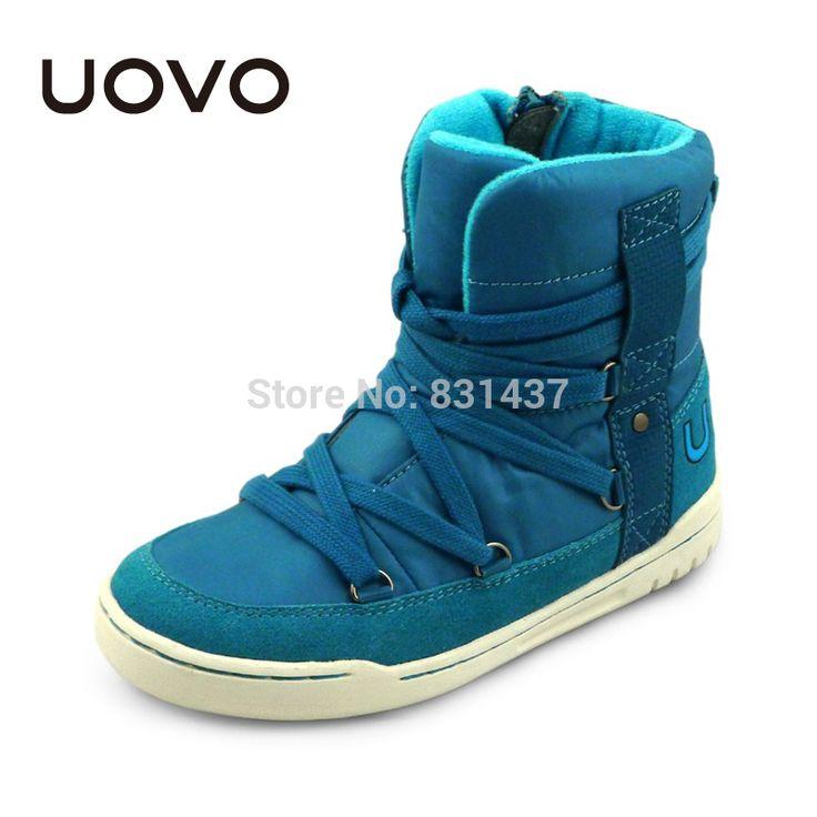 Encontrar Más Botas Información acerca de Uovo2014 nuevos niños y niñas botas botas de nieve de algodón acolchado cálido zapatos zapatos de paternidad, alta calidad zapatos de Eva, China zapato de forma Proveedores, barato los zapatos nuevos de Zoe baby's Store en Aliexpress.com