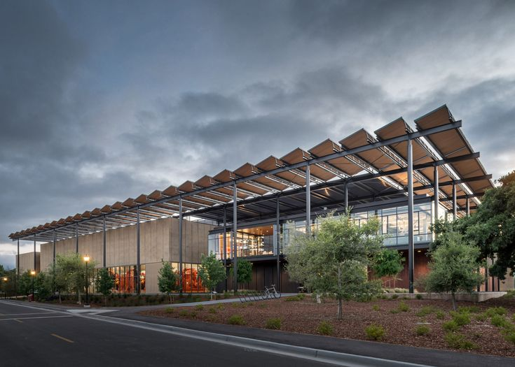 Photograph by Matthew Anderson Stanford University Central Energy Facility by ZGF Architects in California, USA