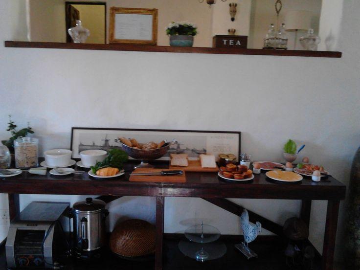 Great Breakfast at De Molen Guest House
