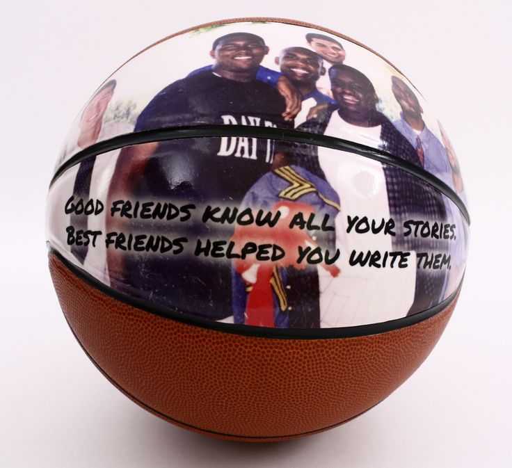 Basketball Christmas Gift Personalized With Photos Of The Fan In Your Life