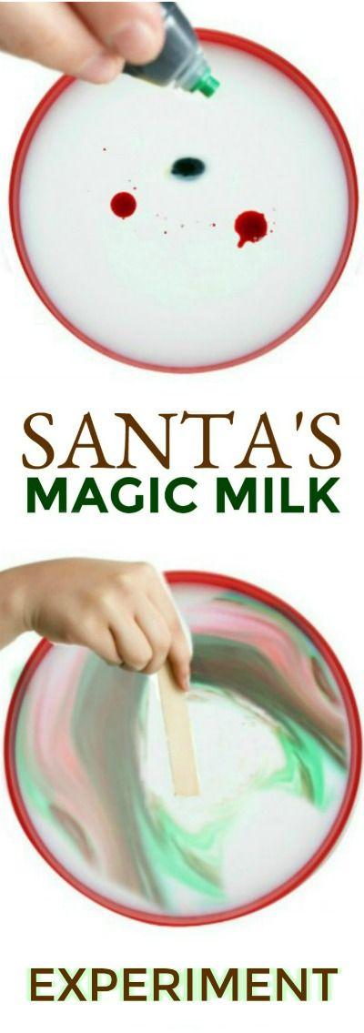Santa's Magic Milk