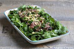 Salade thaï de boeuf mariné - Larmes du tigre