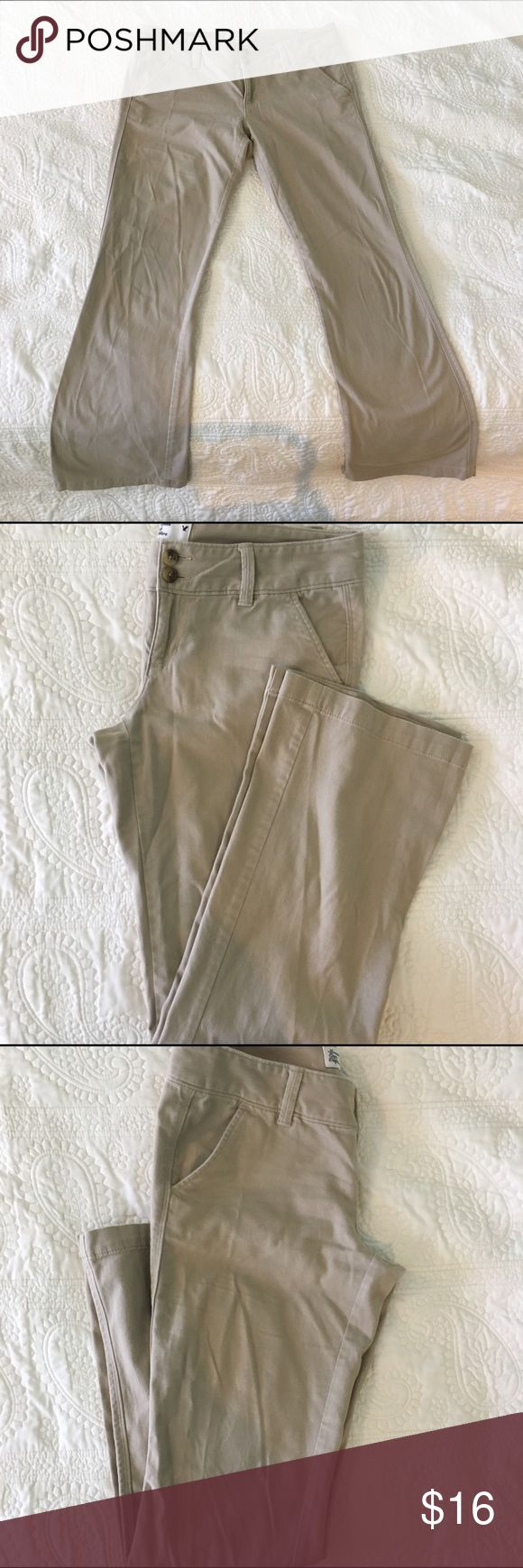 American Eagle Outfitters khaki pants Amazingly soft for a chino pant, EUC, no rips, stains, or tears American Eagle Outfitters Pants Trousers