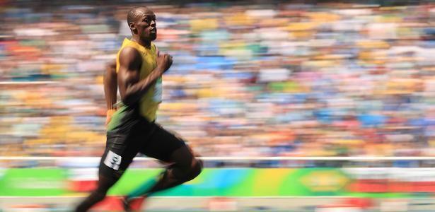 Cansado do calor, Bolt revela nervosismo para final dos 200m - UOL Olimpíadas