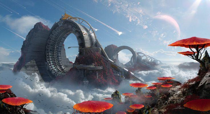 Space Warp Machine Day by 2buiArt.deviantart.com on @DeviantArt