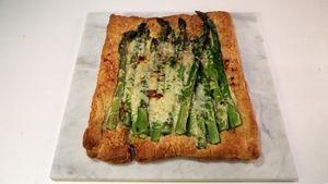 Asparagus & Cheese Tart Recipe | The Chew - ABC.com