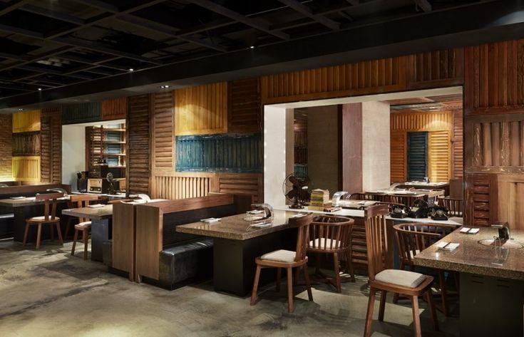 Yakiniku Master Restaurant by Golucci International Design