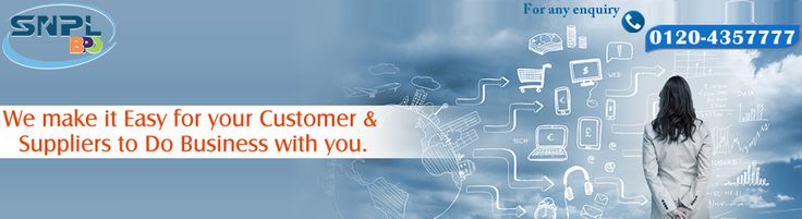 We make it Easy for your Customer & Suppliers to do business with you...