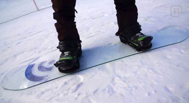 "tho glass snowboards and rails? not sure that would have much ""pop""  LEGO, Glass & Apple Styled Custom Snowboards"