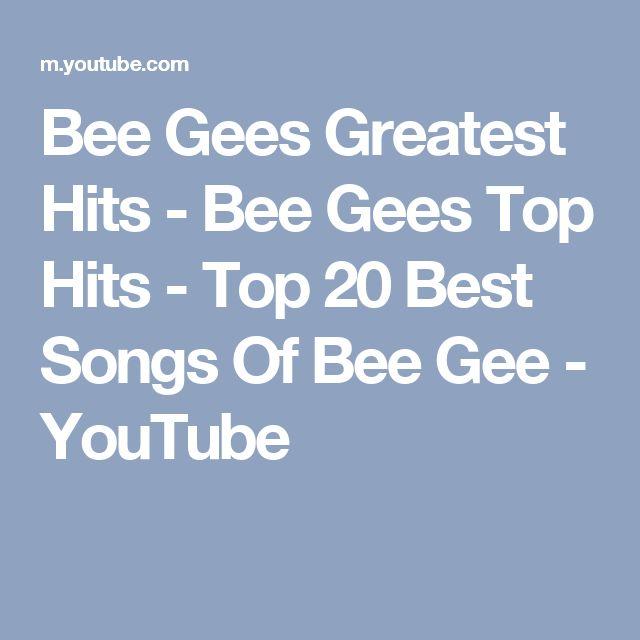 Bee Gees Greatest Hits - Bee Gees Top Hits - Top 20 Best Songs Of Bee Gee - YouTube
