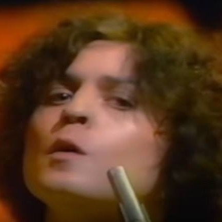 March 24th 1977Top Of The Pops broadcast Marc's performance of Soul Of My Suit recorded the previous day this would be Marc's very last appearance on the show