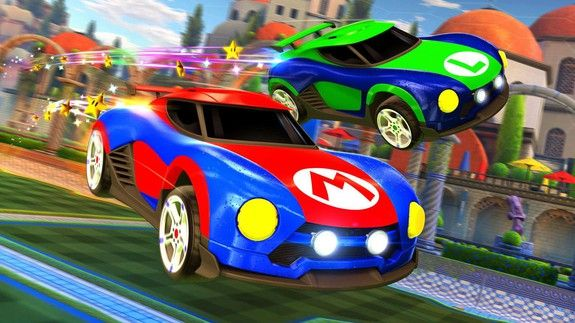 We obviously need these Nintendo-themed Rocket League cars in Mario Kart