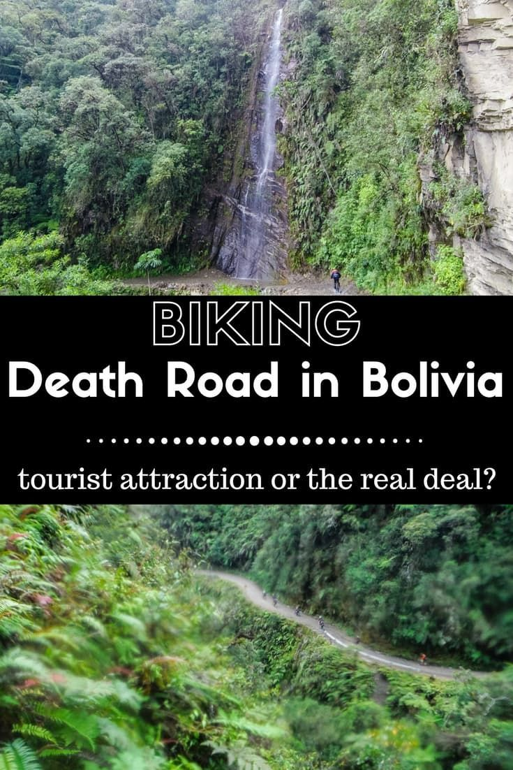 This is an honest review of our experience biking the Death Road in Bolivia – a 70 km winding dirt road. |Biking Death Road | Bolivian Death Road | Yungas Road | Things to do in La Paz | Backpacking South America | Biking in Bolivia #deathroad #bolivia #downhill