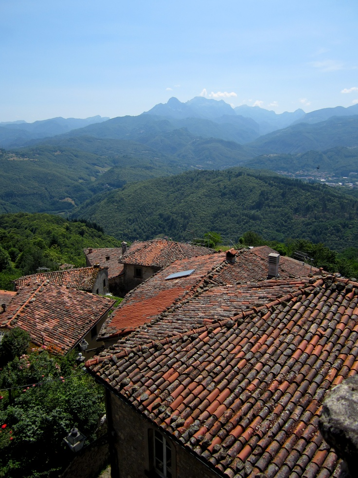 Sillico, a onetime haven for bandits, is perched high above Garfagnana's Serchio Valley