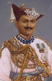 Nana Sahib (born 19 May 1824 – disappeared 1857), was an Indian, Maratha aristocrat, who led the Cawnpore rebellion during the Indian Rebellion of 1857. As the adopted son of the exiled Maratha Peshwa Baji Rao II, he was entitled to a pension from the English East India Company. The Company's refusal to continue the pension after his father's death, as well as its generally arrogant policies, compelled him to revolt and seek freedom from company rule in India.