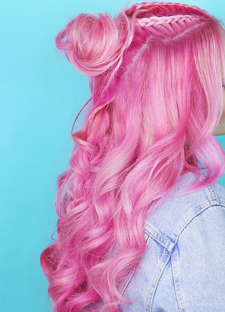 Definitely doing my hair this colour - arctic fox virgin pink!.