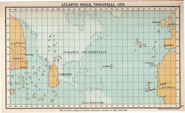 Μεγάλοι Θαλασσοπόροι: Ο εσφαλμένος χάρτης του Τοσκανέλι που ενέπνευσε το...