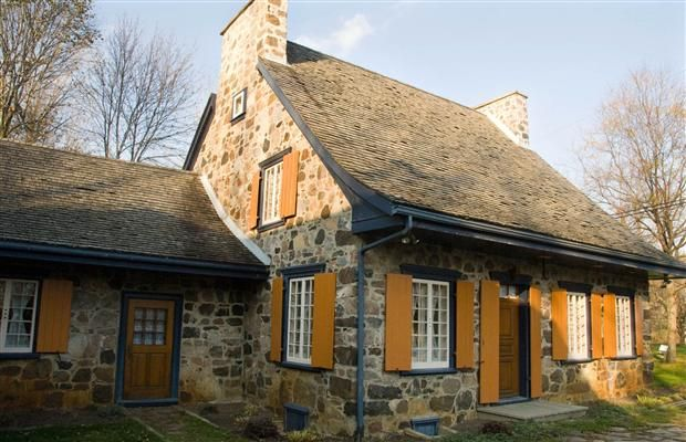 The 18th century, Quebecois-style fieldstone house has more than 4,600 sq. ft of living space. Built in 1745, the house was saved from demolition in 1967 by a local heritage admirer who bought the home and moved it, stone by stone, board by board, to its new location in LAcadie. It is one of the oldest residences for sale in North America.