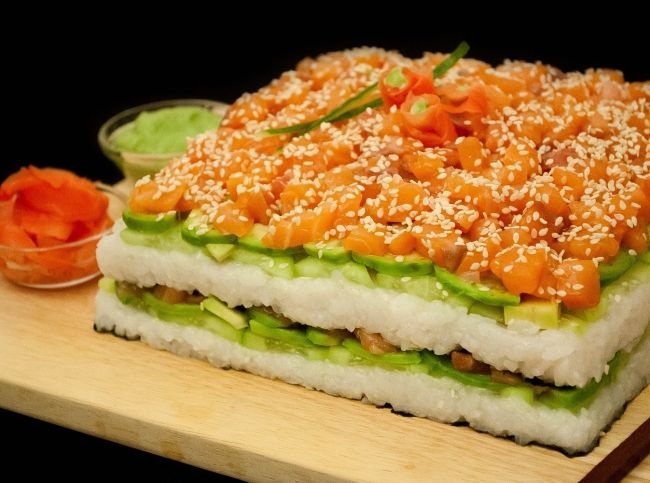 Суши-торт: это так просто! - Портал «Домашний»