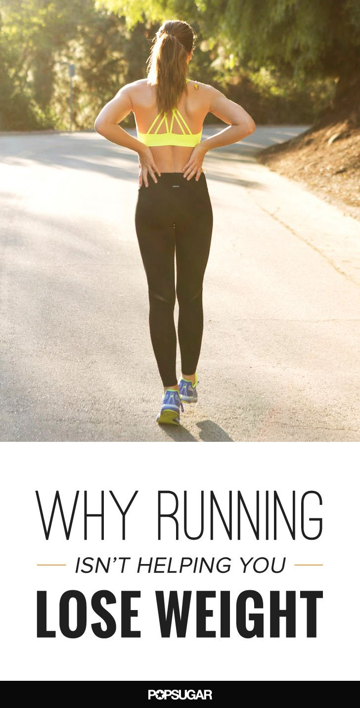 Why Running Isn't Helping You Lose Weight - You started running months ago, yet every time you hop on the scale, you're let down by the results. What gives? While running does burn mega calories, here are some reasons you may not be seeing the weight-loss results you're after.