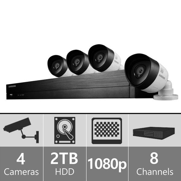 SDH-C74040 - Samsung 8 Channel 1080p HD Security System - SOLTECH SECURITY