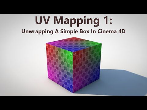 UV Mapping 1: Unwrapping A Simple Box In Cinema 4D
