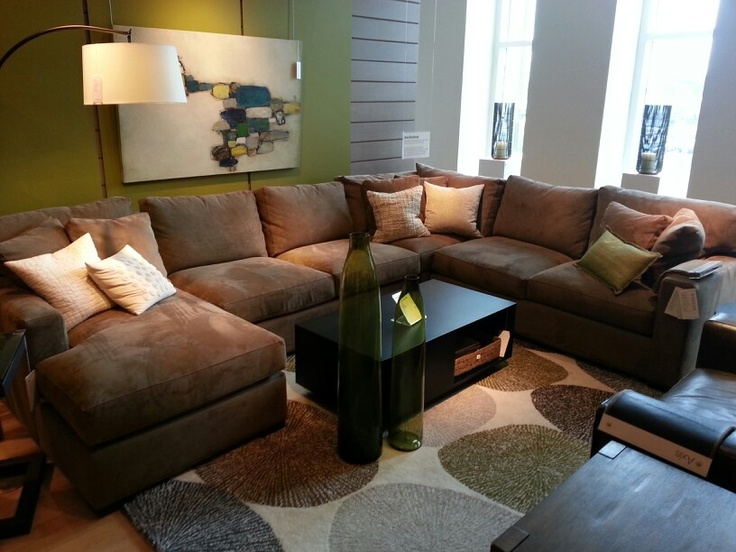 Axis Sectional Crate And Barrell. | Sectional Sofa | Pinterest | Crates,  Living Room Inspiration And Room Inspiration