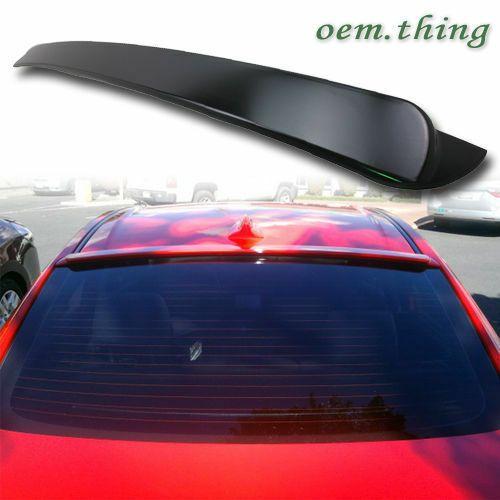 2003-2009 Mazda 3 Window Roof Lip Spoiler Wing ABS Unpainted
