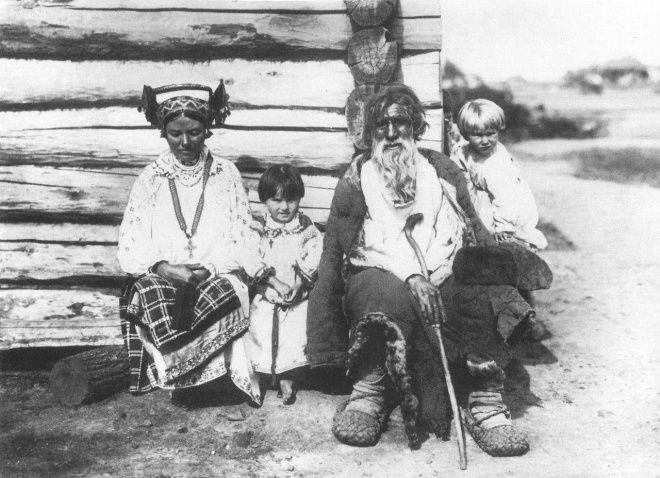 Семья. Орловская губ. 1904г.