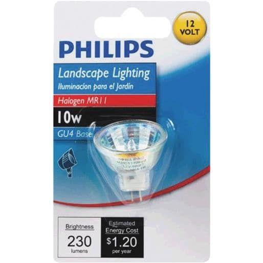 Philips Lighting Co 10W 12V Mr11 Hal Bulb 417220 Unit: Each, White